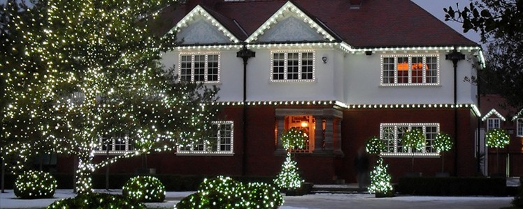 Residential Christmas Decorating Service